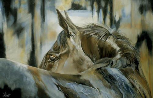 Susanne Pfefferkorn, Angst, Tiere, Gefühle: Angst, Naturalismus, Abstrakter Expressionismus