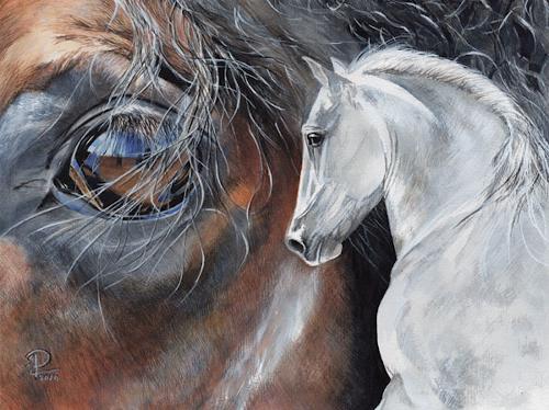 Susanne Pfefferkorn, ohne Titel, Tiere, Tiere: Land, Naturalismus, Expressionismus