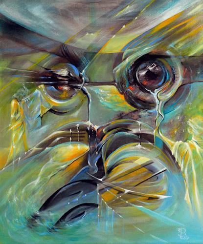 Susanne Pfefferkorn, Portrait der bizarren Zeit, Menschen, Gefühle, Postsurrealismus, Expressionismus