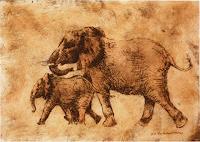 (Uli)-Hans-Ulrich-Aschenborn-Tiere-Land-Moderne-Naturalismus