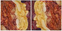 (Uli)-Hans-Ulrich-Aschenborn-Menschen-Frau-Menschen-Mann-Moderne-Abstrakte-Kunst