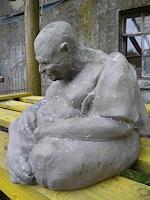 Yvonne-van-Huelsen-Akt-Erotik-Akt-Mann-Religion-Gegenwartskunst--Gegenwartskunst-