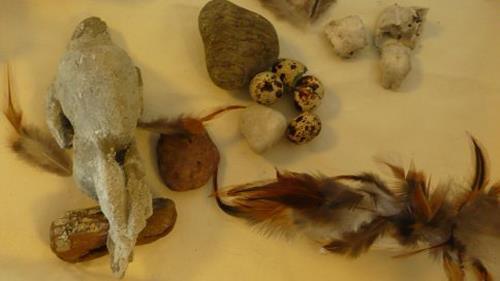 Yvonne van Hülsen, ...als die Steine noch Vögel waren, Natur: Luft, Natur: Gestein, Gegenwartskunst