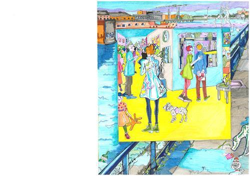 Monika Aladics, I Love Art / Serie: We Love Art, Gesellschaft, Markt, Gegenwartskunst