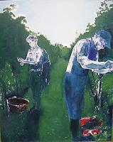 Diana-Mandel-Landschaft-Ebene-Gegenwartskunst-Gegenwartskunst