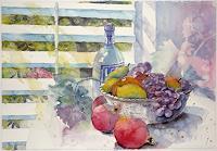 Ulrich Hartig, Stillleben mit Früchten
