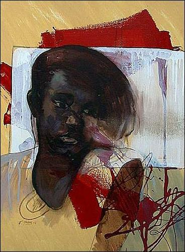 Francisco Núñez, O/T, Menschen: Frau, Menschen: Porträt