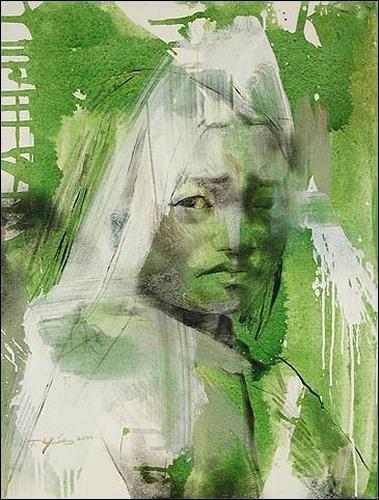 Francisco Núñez, Gentes Del Tibet, Menschen: Frau, Menschen: Porträt