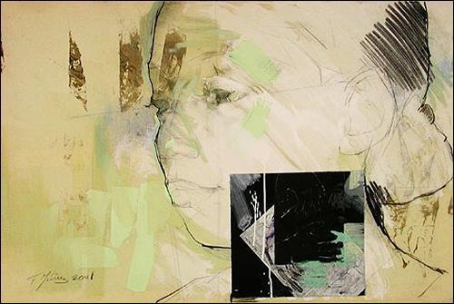 Francisco Núñez, Dailien 3/4, Gefühle: Stolz, Menschen: Frau, Expressionismus