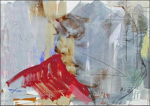 Francisco Núñez, Muchacha De La Calle, Menschen: Gesichter, Menschen: Kinder, Expressionismus