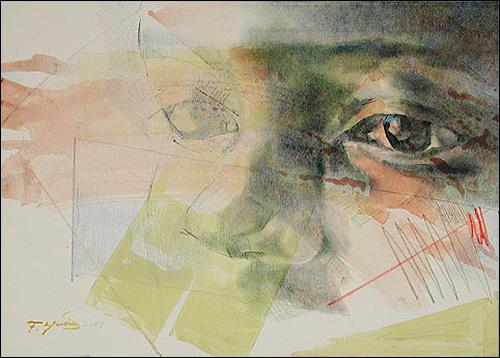 Francisco Núñez, Los Ojos De Elena, Menschen: Gesichter, Menschen: Porträt