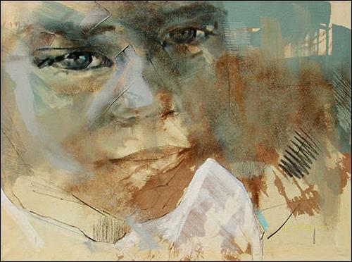Francisco Núñez, Muchacha De Pinillo, Gefühle: Trauer, Menschen: Kinder