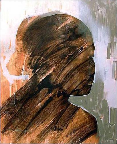 Francisco Núñez, La Hija Del Morry, Menschen: Frau, Menschen: Porträt, Expressionismus