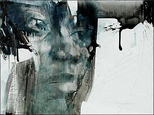Francisco Núñez, Así Soy, Menschen: Gesichter, Menschen: Porträt, Abstrakter Expressionismus