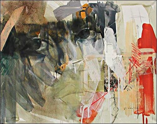 Francisco Núñez, Hi, Menschen: Gesichter, Menschen: Porträt, Expressionismus