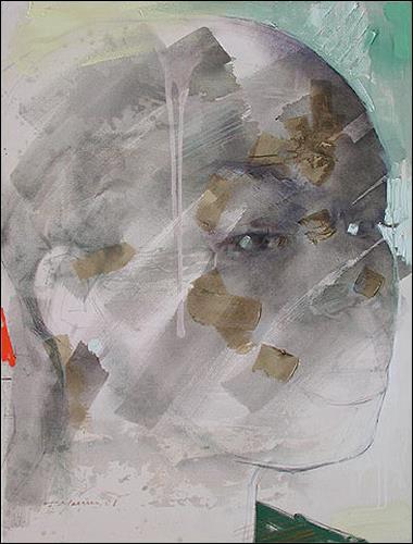 Francisco Núñez, Hija Del Morry, Menschen: Gesichter, Menschen: Frau, Expressionismus