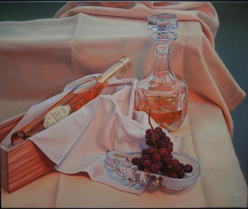Ralf Vieweg, Marc de Champagne, Stilleben, Essen, Gegenwartskunst, Expressionismus