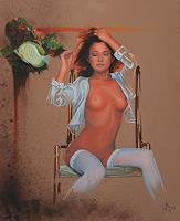 Ralf-Vieweg-1-Akt-Erotik-Akt-Frau-Menschen-Frau-Neuzeit-Realismus