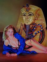 Ralf-Vieweg-1-Akt-Erotik-Akt-Frau-Fantasie-Moderne-Symbolismus
