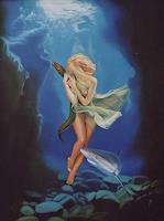 Ralf-Vieweg-1-Fantasie-Tiere-Wasser-Moderne-Symbolismus