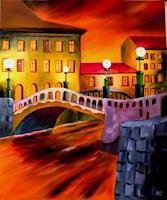 Heinz-Gerstmann-alias-Roevel-Architektur-Diverse-Landschaften-Moderne-Impressionismus