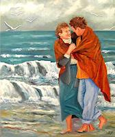 Heinz-Gerstmann-alias-Roevel-Menschen-Paare-Gefuehle-Liebe-Moderne-Impressionismus