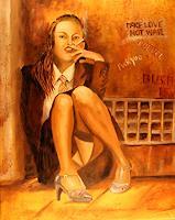 Heinz-Gerstmann-alias-Roevel-Menschen-Frau-Gefuehle-Depression-Moderne-Impressionismus