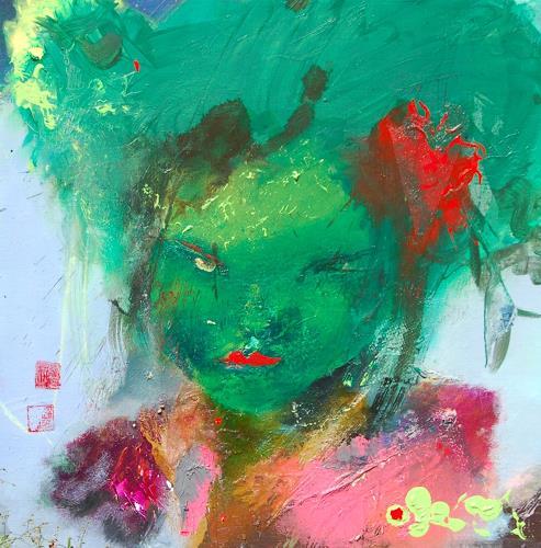 zalans, osaka girl, Fashion, Postmoderne, Abstrakter Expressionismus