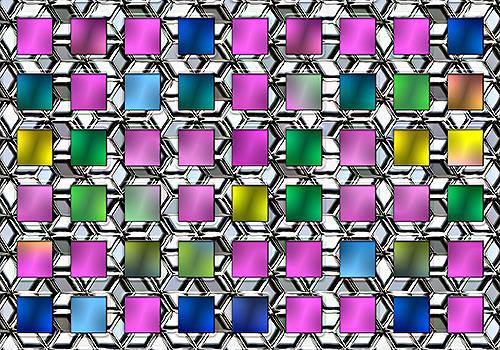 Liona Toussaint, metallic variety, Abstraktes, Dekoratives, Moderne