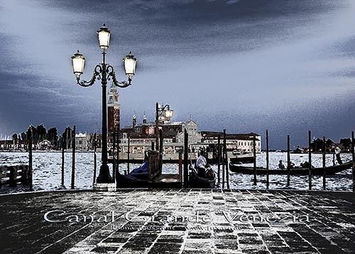 Liona Toussaint, Canal Grande Venezia, Diverse Romantik, Diverse Landschaften, Fotorealismus