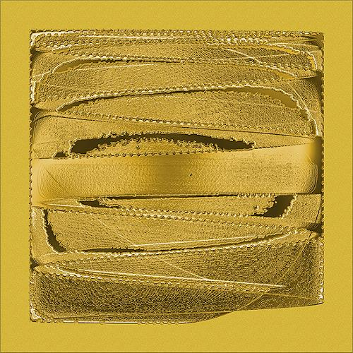 Liona Toussaint, Gold pur, Dekoratives, Abstraktes, Abstrakte Kunst