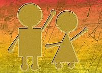 Liona-Toussaint-Menschen-Kinder-Abstraktes-Moderne-Abstrakte-Kunst