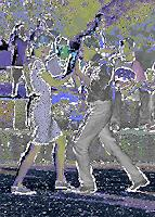 Liona-Toussaint-Menschen-Paare-Abstraktes-Moderne-Abstrakte-Kunst