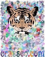 Liona-Toussaint-Tiere-Land-Pflanzen-Blumen-Moderne-Art-Deco