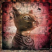 Liona-Toussaint-Mythologie-Tiere-Land-Moderne-expressiver-Realismus