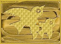 Liona-Toussaint-Dekoratives-Tiere-Luft-Gegenwartskunst--Gegenwartskunst-