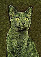 Liona-Toussaint-Tiere-Land-Dekoratives-Moderne-Abstrakte-Kunst