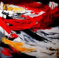 U.v.Sohns-Abstraktes-Dekoratives-Moderne-Abstrakte-Kunst