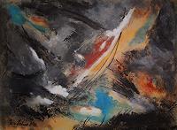 U.v.Sohns-Abstraktes-Natur-Diverse-Moderne-Abstrakte-Kunst