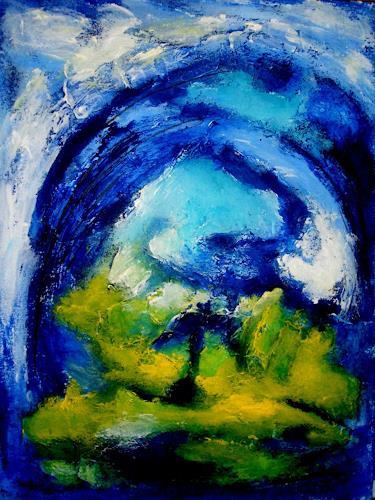 U.v.Sohns, Fossilien 7-10, Natur: Gestein, Abstraktes, Abstrakte Kunst