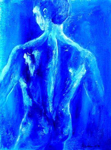 U.v.Sohns, o.T., Akt/Erotik: Akt Mann, Menschen: Mann, Realismus