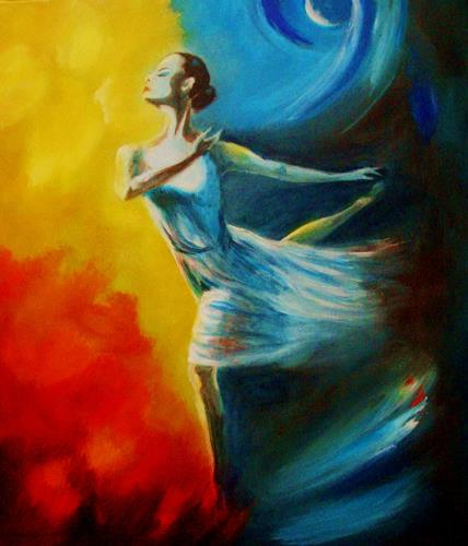 U.v.Sohns, Tanz ist ihr Leben, Bewegung, Diverse Gefühle, Moderne