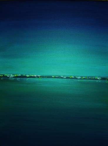U.v.Sohns, Abendstimmung -7-2010-, Landschaft: See/Meer, Diverse Romantik, Moderne
