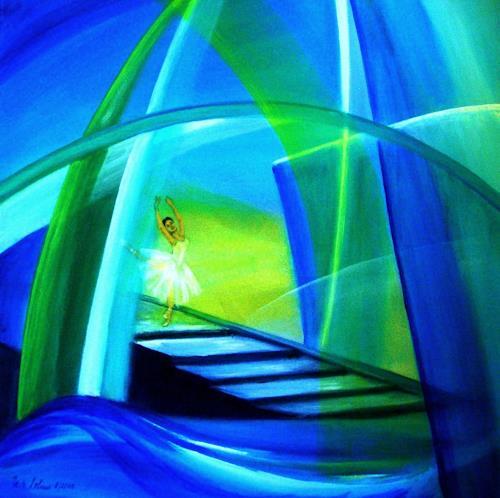 U.v.Sohns, die Leichtigkeit des Seins, Abstraktes, Diverse Gefühle, Abstrakte Kunst