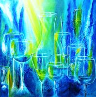 U.v.Sohns-Party-Feier-Dekoratives-Gegenwartskunst-Gegenwartskunst