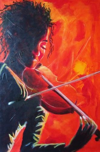 U.v.Sohns, Musik verzaubert, Diverse Musik, Diverse Gefühle, Gegenwartskunst, Expressionismus