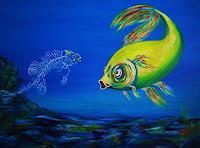U.v.Sohns-Humor-Tiere-Wasser-Moderne-Moderne