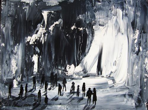U.v.Sohns, Premiere, Situationen, Dekoratives, Abstrakte Kunst, Abstrakter Expressionismus