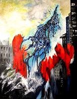 U.v.Sohns-Krieg-Gefuehle-Angst-Moderne-Abstrakte-Kunst
