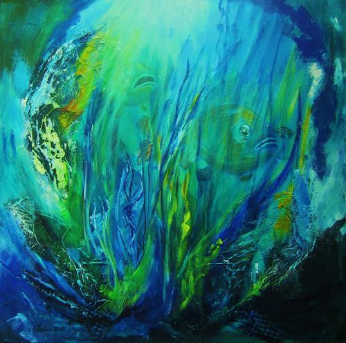 U.v.Sohns, Stalker, Natur: Wasser, Tiere: Wasser, Moderne, Expressionismus